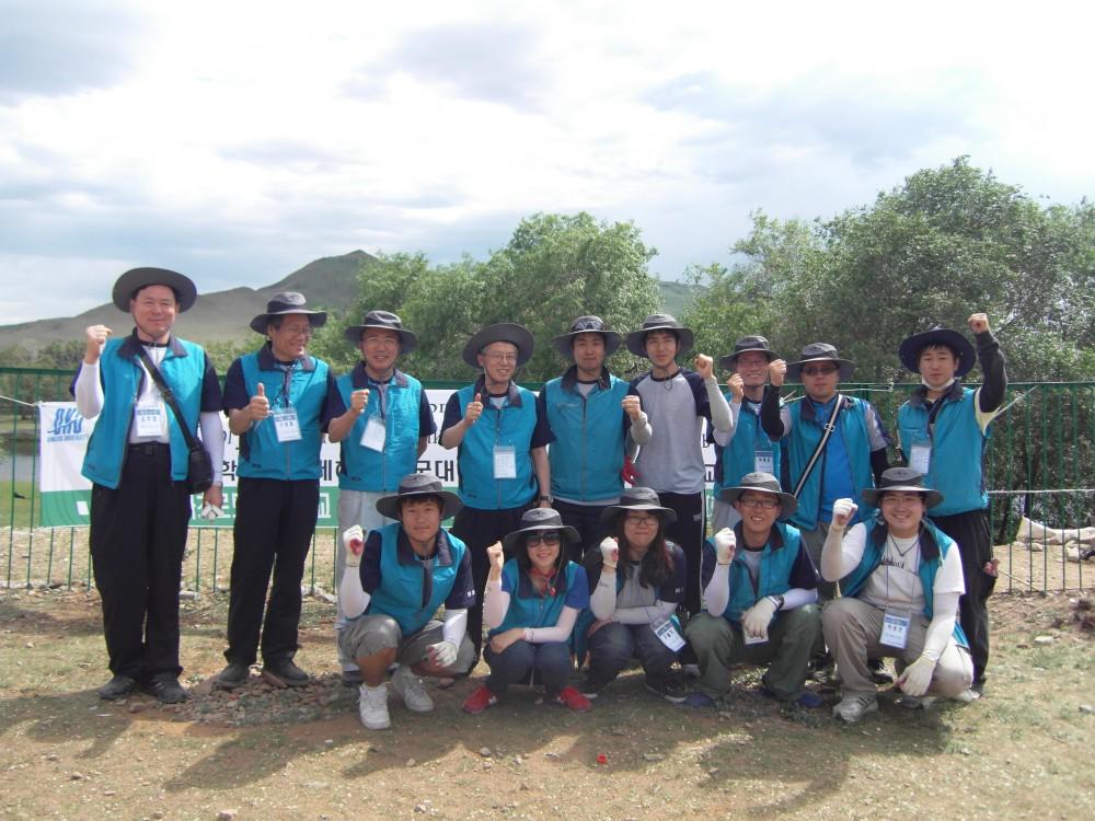2010. 몽골 해외 기술 봉사단 파견