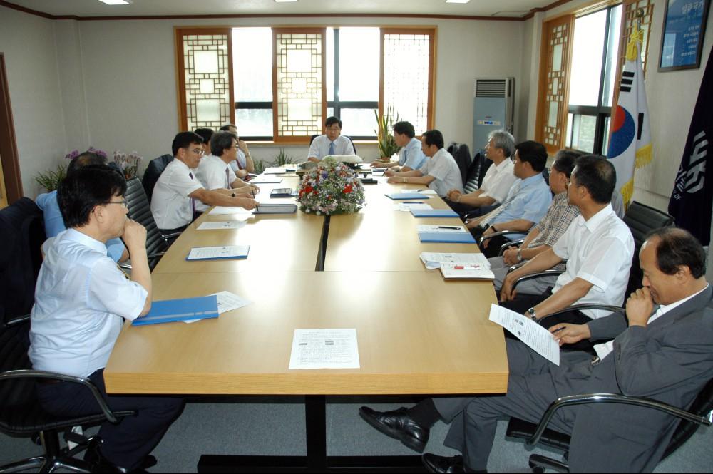 2012년09월03 보직자 임명장 수여