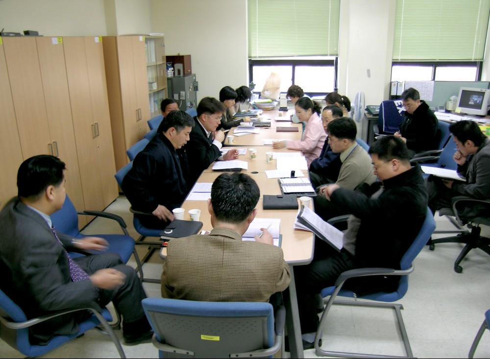 경영지원팀 팀원회의