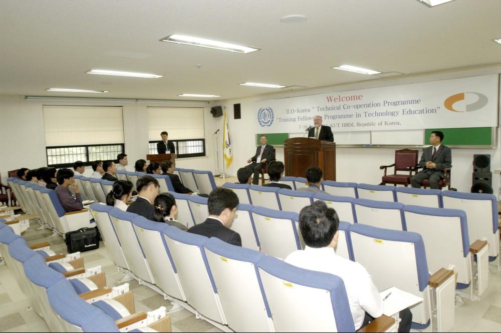 한국기술교육대학교 와 ILO협력사업 양해각서(MOU)체결