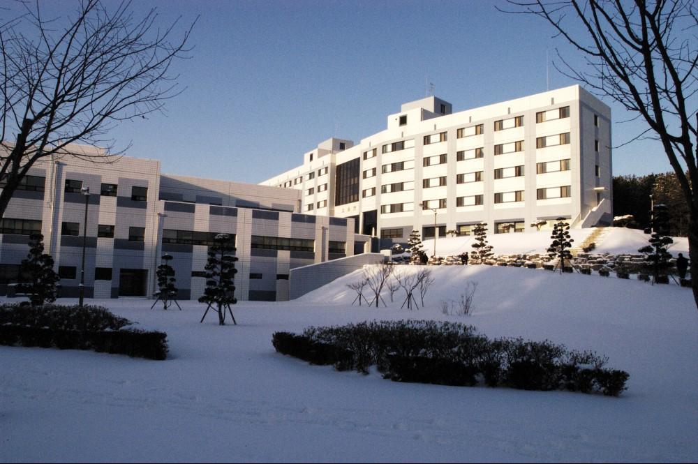 교육원의 겨울 풍경