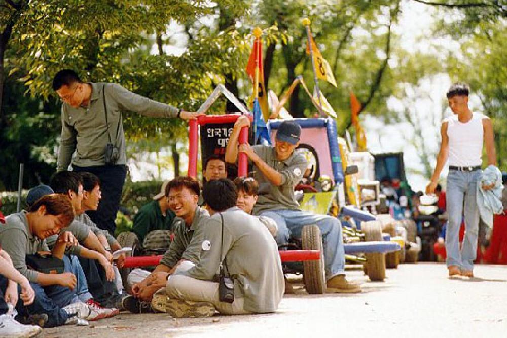 2001년 자작자동차 경진대회