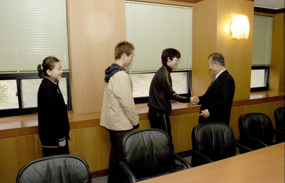 2004 O.T중 총장과 대화
