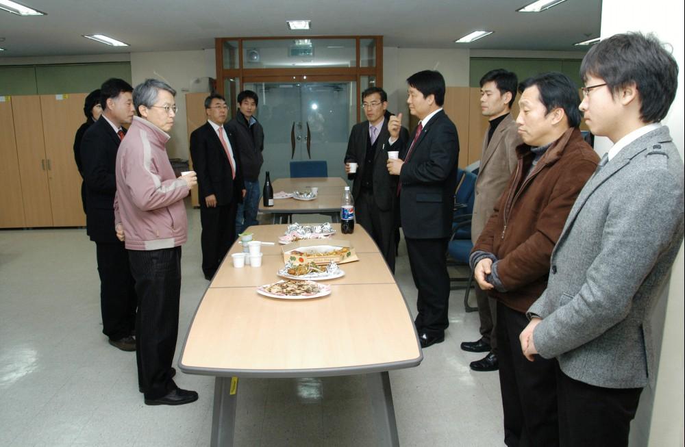 2009. 경영지원팀 송년회
