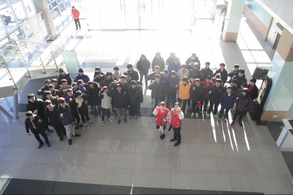 2014 포천중학교 캠퍼스 투어 및 졸업식