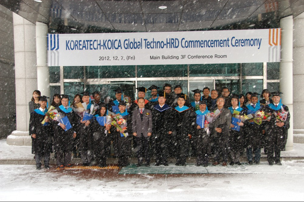 KOREATECH-KOICA Global Techno-HRD Commencement Ceremony