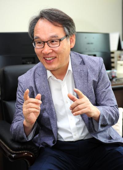 진경복 부총장 인터뷰 사진
