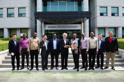 르완다 정부 관계자 및 ILO 관계자 방문