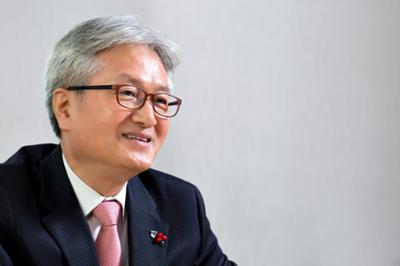 김기영 총장 조선에듀 인터뷰 사진