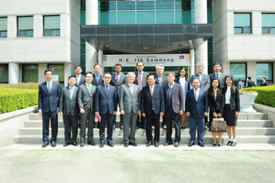 Delegation of Cambodia Minister of Labour and Vocational Training_캄보디아 노동부 장관 일행 방문