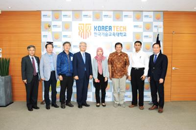 인도네시아 정부 관계자 방문