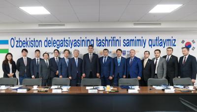 우즈베키스탄 쉐르조드 쿠드비에프 고용노동부장관 일행 코리아텍 직업능력심사평가원 방문