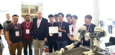 국제로봇학술대회(IROS) 우승(로봇팔 앰비덱스 수상)