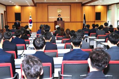 2019년 4월 월례조회(신임 보직교직원 임명장 수여)