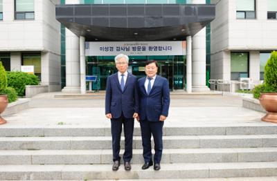 학교법인 한국기술교육대학교 이성경 감사 방문